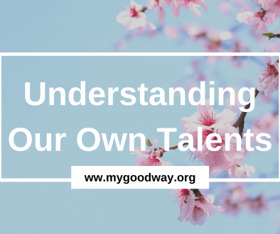 Crossroads blog - understanding our own talents